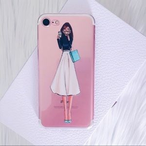 Accessories - Breakfast At Tiffany's iPhone 6, 7 Plus Phone Case